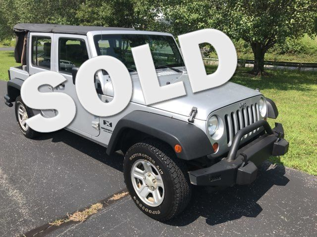 2007 Jeep-Carfax Clean!! 4dr !! Wrangler-LOCAL TRADE! BUY HERE PAY HERE! Unlimited X-CARMARTSOUTH.COM Knoxville, Tennessee