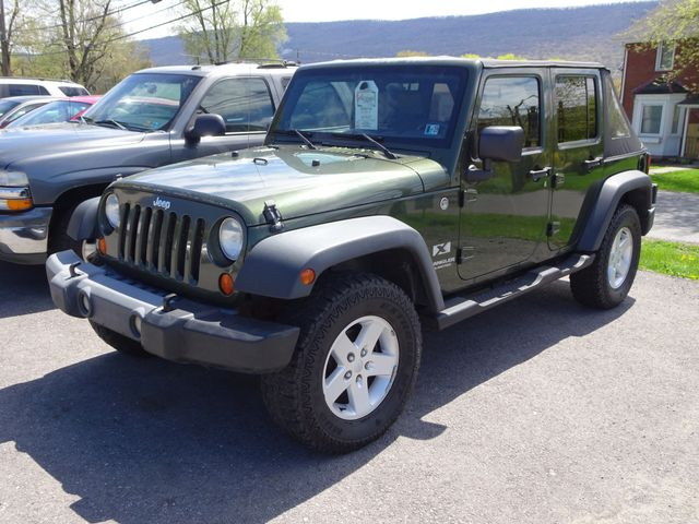 2007 Jeep Wrangler Unlimited X in Lock Haven, PA 17745