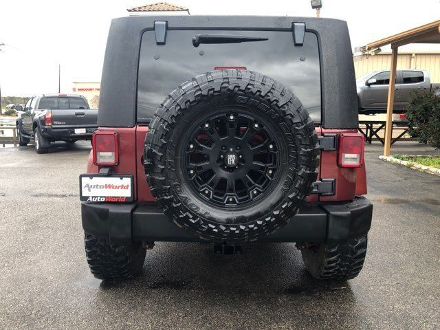 2007 Jeep Wrangler Unlimited Sahara in Marble Falls, TX 78654