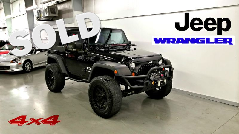 2007 Jeep Wrangler X 4X4 CLEAN CARFAX | Palmetto, FL | EA Motorsports in Palmetto FL