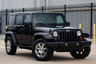 2007 Jeep Wrangler Unlimited Sahara*Hardtop* Manual* 4x4* EZ Finance* | Plano, TX | Carrick's Autos in Plano TX