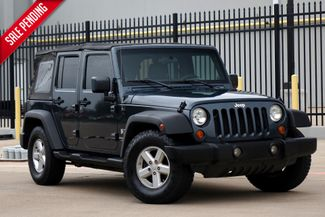 2007 Jeep Wrangler Unlimited X* 2 WD* Automatic* EZ Finance** | Plano, TX | Carrick's Autos in Plano TX