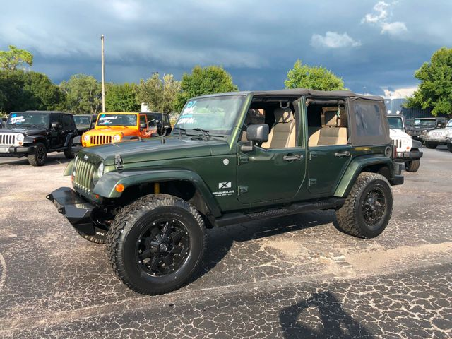 2007 Jeep Wrangler Unlimited X Riverview, Florida 11