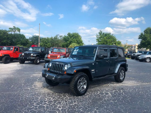 2007 Jeep Wrangler Unlimited Sahara in Riverview, FL 33578