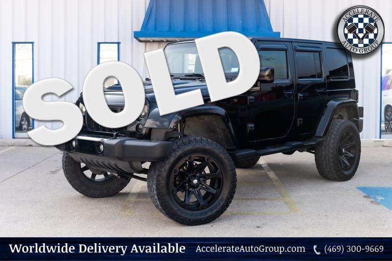 2007 Jeep Wrangler UNLIMITED SARAHA LIFTED CUSTOM WHLS/TRS VERY NICE  in Rowlett Texas