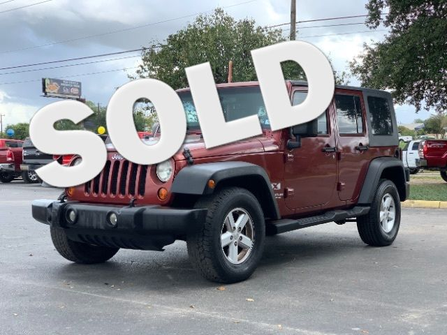 2007 Jeep Wrangler Unlimited X in San Antonio, TX 78233