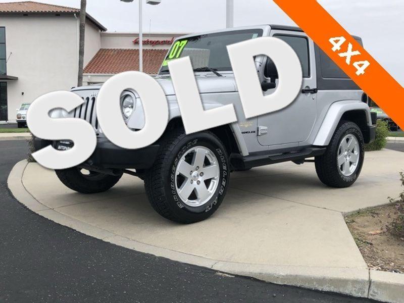 2007 Jeep Wrangler Sahara | San Luis Obispo, CA | Auto Park Sales & Service in San Luis Obispo CA