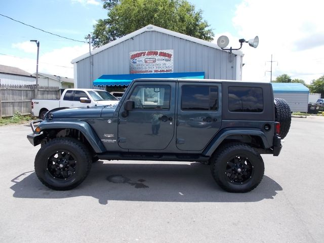 2007 Jeep Wrangler Unlimited Sahara Shelbyville, TN 2
