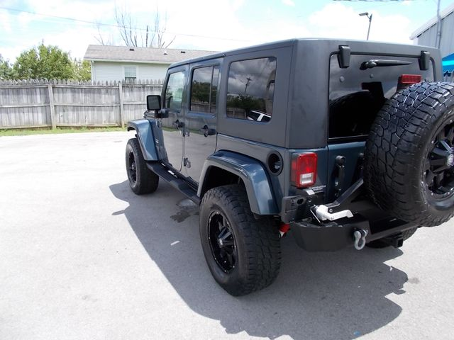 2007 Jeep Wrangler Unlimited Sahara Shelbyville, TN 4