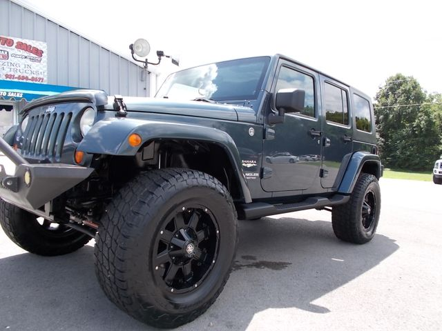 2007 Jeep Wrangler Unlimited Sahara Shelbyville, TN 5