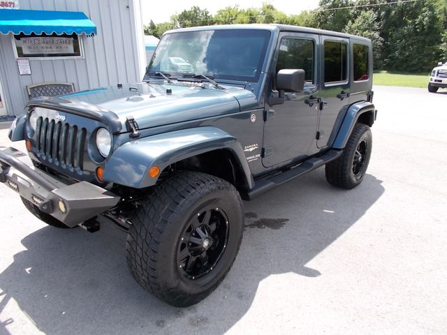 2007 Jeep Wrangler Unlimited Sahara Shelbyville, TN 6
