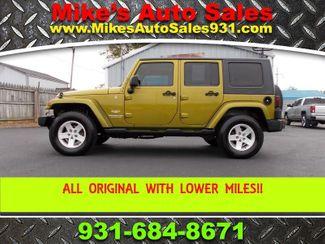 2007 Jeep Wrangler Unlimited Sahara Shelbyville, TN