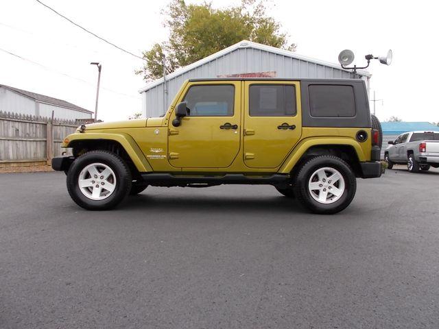2007 Jeep Wrangler Unlimited Sahara Shelbyville, TN 1