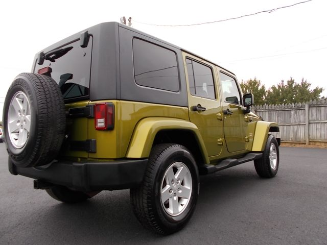 2007 Jeep Wrangler Unlimited Sahara Shelbyville, TN 11