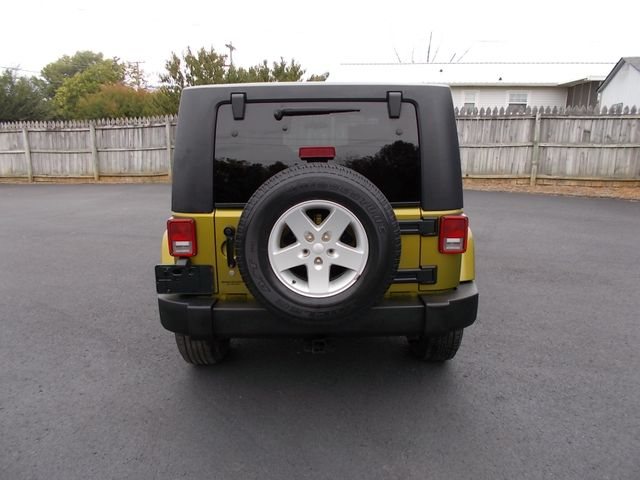 2007 Jeep Wrangler Unlimited Sahara Shelbyville, TN 13