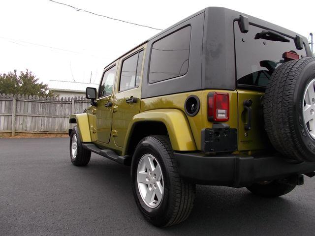 2007 Jeep Wrangler Unlimited Sahara Shelbyville, TN 3