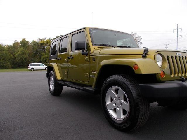 2007 Jeep Wrangler Unlimited Sahara Shelbyville, TN 8