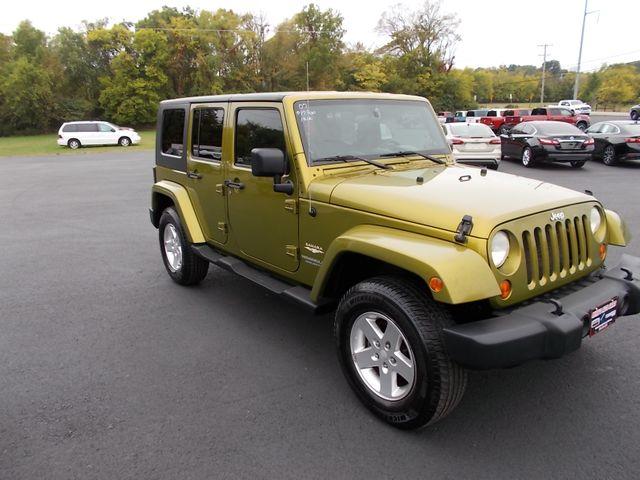 2007 Jeep Wrangler Unlimited Sahara Shelbyville, TN 9
