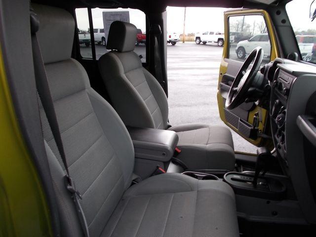 2007 Jeep Wrangler Unlimited Sahara Shelbyville, TN 18