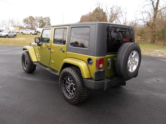 2007 Jeep Wrangler Unlimited Sahara Shelbyville, TN 4
