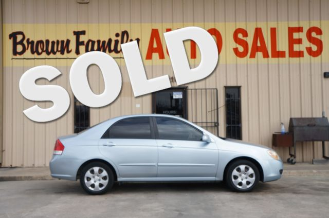 2007 Kia Spectra EX | Houston, TX | Brown Family Auto Sales in Houston TX
