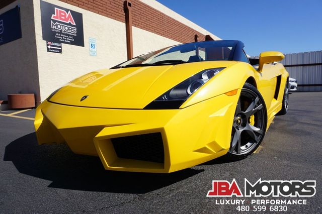 2007 Lamborghini Gallardo Spyder Convertible ~ Custom Body Kit