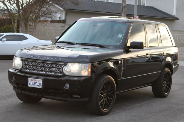 2007 Land Rover RANGE ROVER HSE NAVIAGTION AUTOMATIC SERVICE RECORDS in Van Nuys, CA 91406