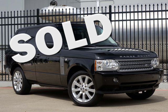 2007 Land Rover Range Rover S/C * DVD * Heated & Cooled Seats * BU CAM * Roof Plano, Texas
