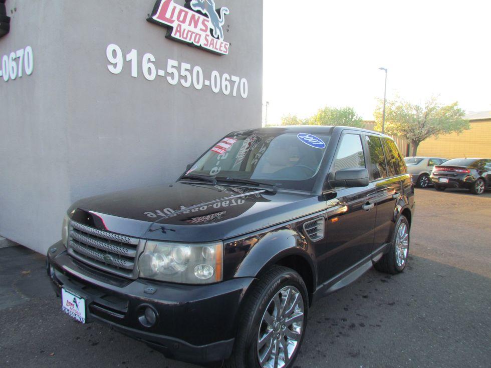 Land Rover Sacramento >> 2007 Land Rover Range Rover Sport Hse Sacramento Ca Lions Auto Sales