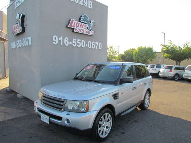 2007 Land Rover Range Rover Sport HSE