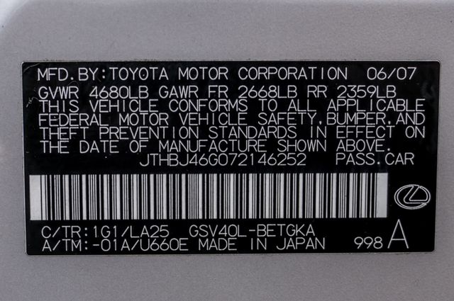 2007 Lexus ES 350 Reseda, CA 40