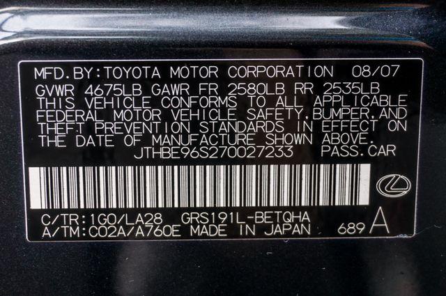 2007 Lexus GS 350 Reseda, CA 44