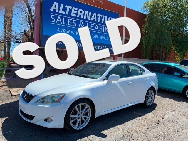2007 Lexus IS 250 3 MONTH/3,000 MILE NATIONAL POWERTRAIN WARRANTY Mesa, Arizona