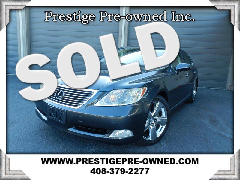 2007 Lexus LS 460 (*NAVIGATION & BACK UP CAM*)--HEATED/COOLED SEATS  in Campbell CA