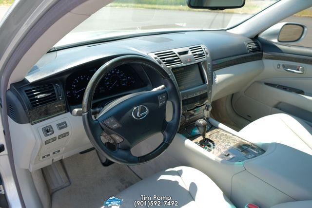 2007 Lexus LS 460 factory chrome wheels in Memphis Tennessee, 38115