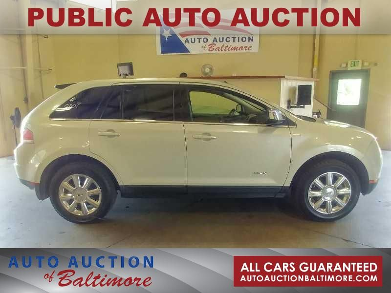 2007 Lincoln MKX    JOPPA, MD   Auto Auction of Baltimore  in JOPPA MD