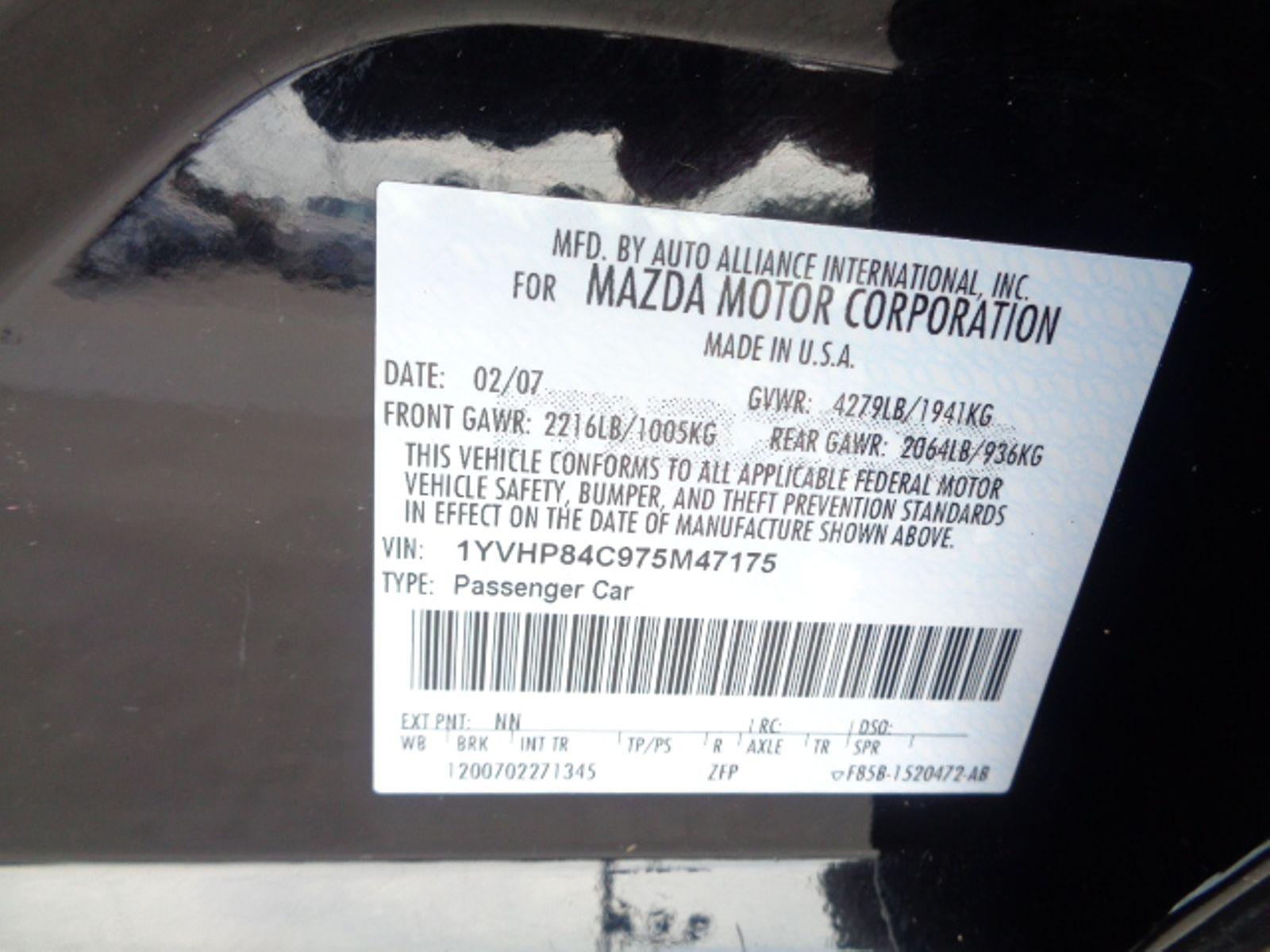... 2007 Mazda Mazda6 i Sport VE city TX Texas Star Motors in Houston, ...