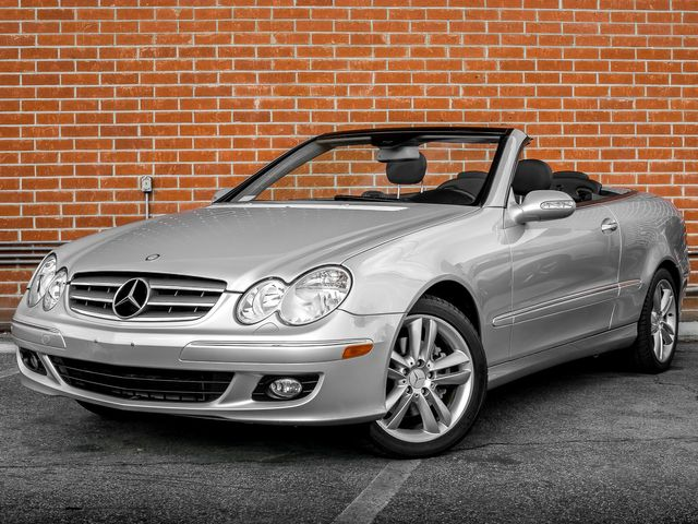 2007 Mercedes-Benz CLK350 3.5L Burbank, CA 0