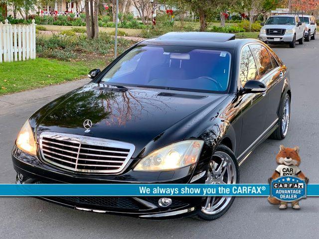 2007 Mercedes-Benz S550 5.5L NAVIGATION XENON SUNROOF SERVICE RECORDS