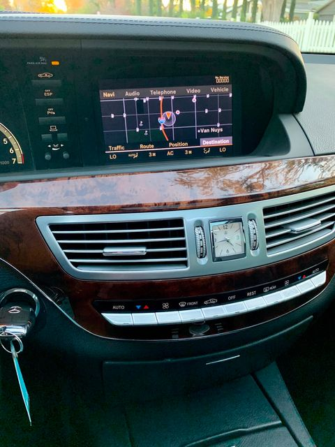 2007 Mercedes-Benz S550 5.5L NAVIGATION XENON SUNROOF SERVICE RECORDS in Van Nuys, CA 91406