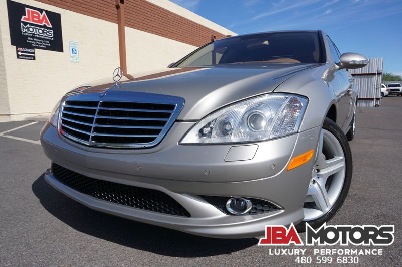 2007 Mercedes-Benz S550 S550 AMG Sport Package S Class 550 Sedan | MESA, AZ | JBA MOTORS in MESA AZ