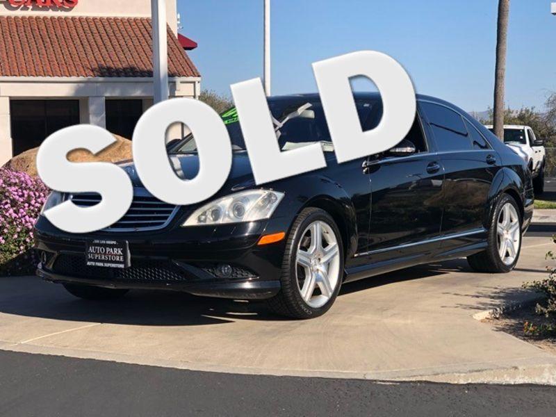 2007 Mercedes-Benz S550 5.5L V8   San Luis Obispo, CA   Auto Park Sales & Service in San Luis Obispo CA