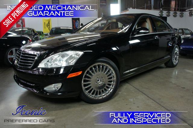2007 Mercedes-Benz S550 5.5L V8   Tempe, AZ   ICONIC MOTORCARS, Inc. in Tempe AZ