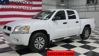 2007 Mitsubishi Raider LS 2WD Crew Cab V6 Automatic Low Miles White NICE in Searcy, AR 72143
