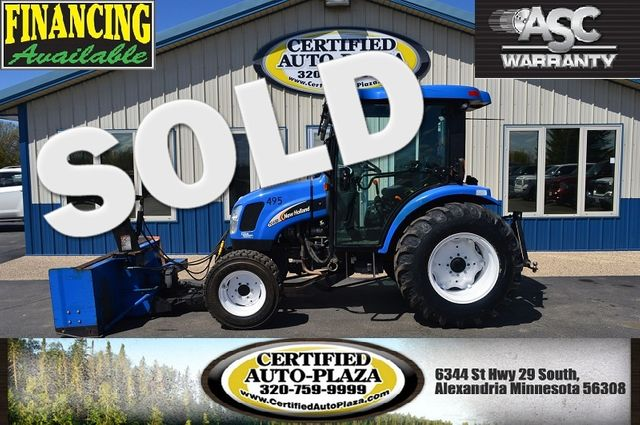 2007 New Holland TC45DA *Snow blower* in  Minnesota