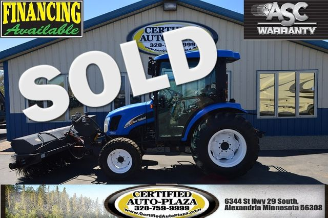 2007 New Holland TC45DA Sweepster Brush in  Minnesota