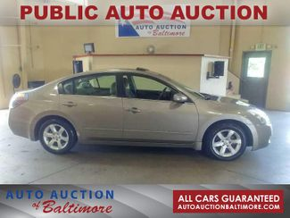 2007 Nissan Altima 2.5 S   JOPPA, MD   Auto Auction of Baltimore  in Joppa MD