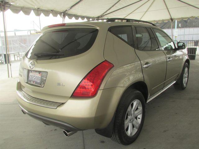 2007 Nissan Murano SL Gardena, California 2