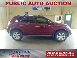 2007 Nissan Murano S   JOPPA, MD   Auto Auction of Baltimore  in Joppa MD