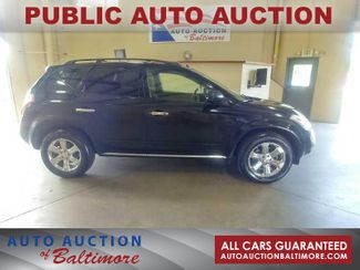 2007 Nissan Murano SL | JOPPA, MD | Auto Auction of Baltimore  in Joppa MD